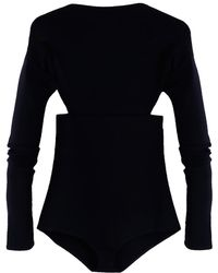Victoria Beckham - Backless Bodysuit - Lyst