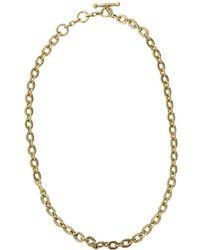 Vaubel - Tiny Circle Chain Necklace - Lyst