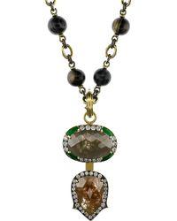 Sylva & Cie - Rough Diamond Pendant - Lyst