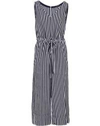 53ba3a8dbc45 MDS Stripes - Amanda Striped Jumpsuit - Lyst