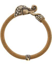 Sevan Biçakci - Diamond Elephant Leather Bracelet - Lyst