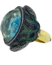 Sevan Biçakci - School Of Fish Turquoise Ring - Lyst