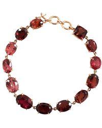Irene Neuwirth - Limited Edition Mixed Pink Tourmaline Bracelet - Lyst