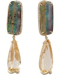 Dana Rebecca - Courtney Lauren Opal Earrings - Lyst