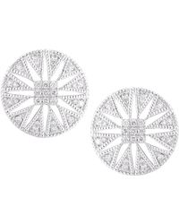 Dana Rebecca - Emily Sarah Diamond Stud Earrings - Lyst