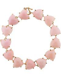 Irene Neuwirth - Heart Shape Pink Opal Bracelet - Lyst