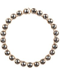 Larkspur & Hawk - Olivia Button Riviere Necklace - Lyst
