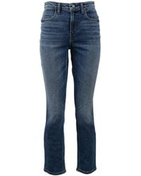 T By Alexander Wang - Straight Aged Jean - Lyst
