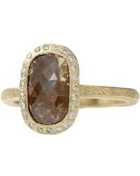 Todd Reed - Fancy Cut Red Diamond Ring - Lyst