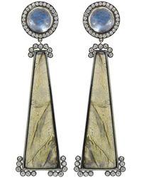 Katherine Jetter - Labradorite Earrings - Lyst