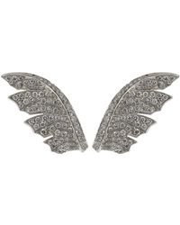 Stephen Webster - Magnipheasant Pave Diamond Feather Earrings - Lyst