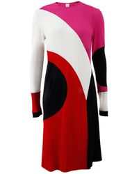 Naeem Khan - Colorblock Dress - Lyst
