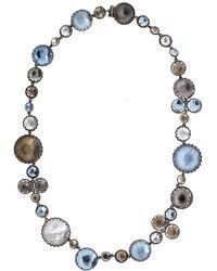 Larkspur & Hawk - Sadie Bubble Riviere Necklace - Lyst