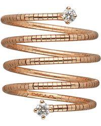Mattia Cielo - Rugiada Diamond End Five Wrap Ring - Lyst