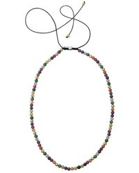 Shamballa Jewels - Mixed Bead Necklace - Lyst