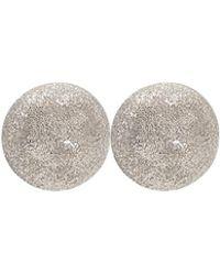 Carolina Bucci - Medium Sparkly Ball Earrings - Lyst