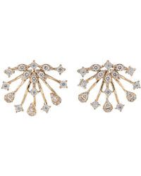 Dana Rebecca - Diamond Earrings - Lyst