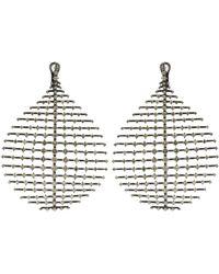 Fernando Jorge - Champagne Diamond Disco Earrings - Lyst