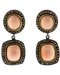 Yossi Harari - Ella Drop Coral Earrings - Lyst