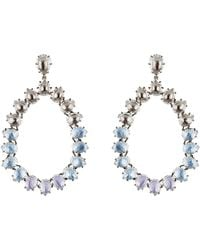 Larkspur & Hawk - Caterina Large Frame Earrings - Lyst