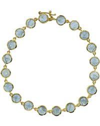 Irene Neuwirth - Fine Aquamarine Bracelet - Lyst