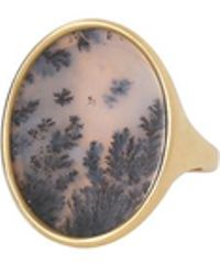 Monique Péan - Dendritic Agate Oval Ring - Lyst