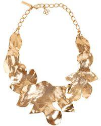 Oscar de la Renta - Foliage Necklace - Lyst