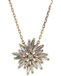 Suzanne Kalan - Mini Diamond Star Necklace - Lyst