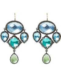 Larkspur & Hawk - Sadie Girandole Earrings - Lyst