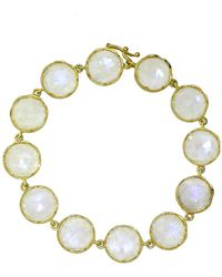 Irene Neuwirth | Rose Cut Rainbow Moonstone Bracelet | Lyst