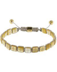 Shamballa Jewels | Pearl Lock Diamond Bracelet | Lyst