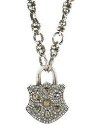 Sevan Biçakci - Fancy Diamond Flower Padlock - Lyst