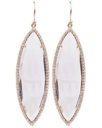 Irene Neuwirth - Rose Cut Rose De France Earrings - Lyst