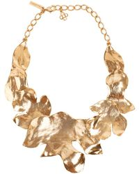Oscar de la Renta - Foliage Necklace - Lyst