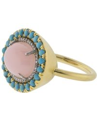 Irene Neuwirth - Pink Opal Ring - Lyst