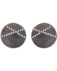 Todd Reed - White Diamond X Stud Earrings - Lyst