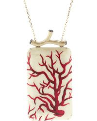Silvia Furmanovich - Marquetry Red Coral Necklace - Lyst