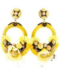 Ranjana Khan - Yellow Earrings - Lyst