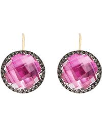 Larkspur & Hawk - Olivia Button Earrings - Lyst