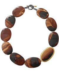 Yossi Harari   Tiger Eye Agate Necklace   Lyst