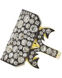 Sylva & Cie | Diamond Ten Table Ring | Lyst