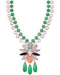 Irene Neuwirth - Mixed Stone Pendant Necklace - Lyst