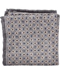 Polka-dot Silk And Cotton-blend Pocket Square Brunello Cucinelli 8WzqLxH
