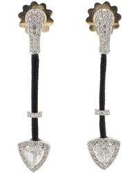 Inbar - Diamond Earrings - Lyst