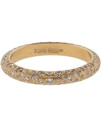 Todd Reed - White Diamond Sprinkle Band - Lyst