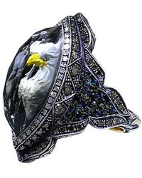 Sevan Biçakci | Carved Eagle Diamond Ring | Lyst