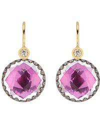 Larkspur & Hawk - Small Olivia Button Earrings - Lyst
