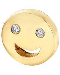 Alison Lou - Happy Face Stud - Lyst