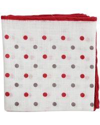 Brunello Cucinelli - Polka Dot Pocket Square - Lyst