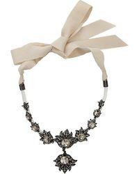 Lanvin - Blanche Short Necklace - Lyst